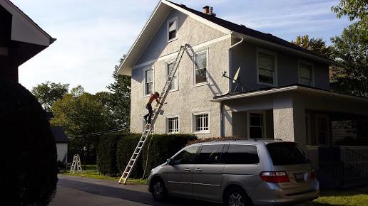 Artisons Painting, Plaster, & Drywall Repair Exterior Home Paint Sample